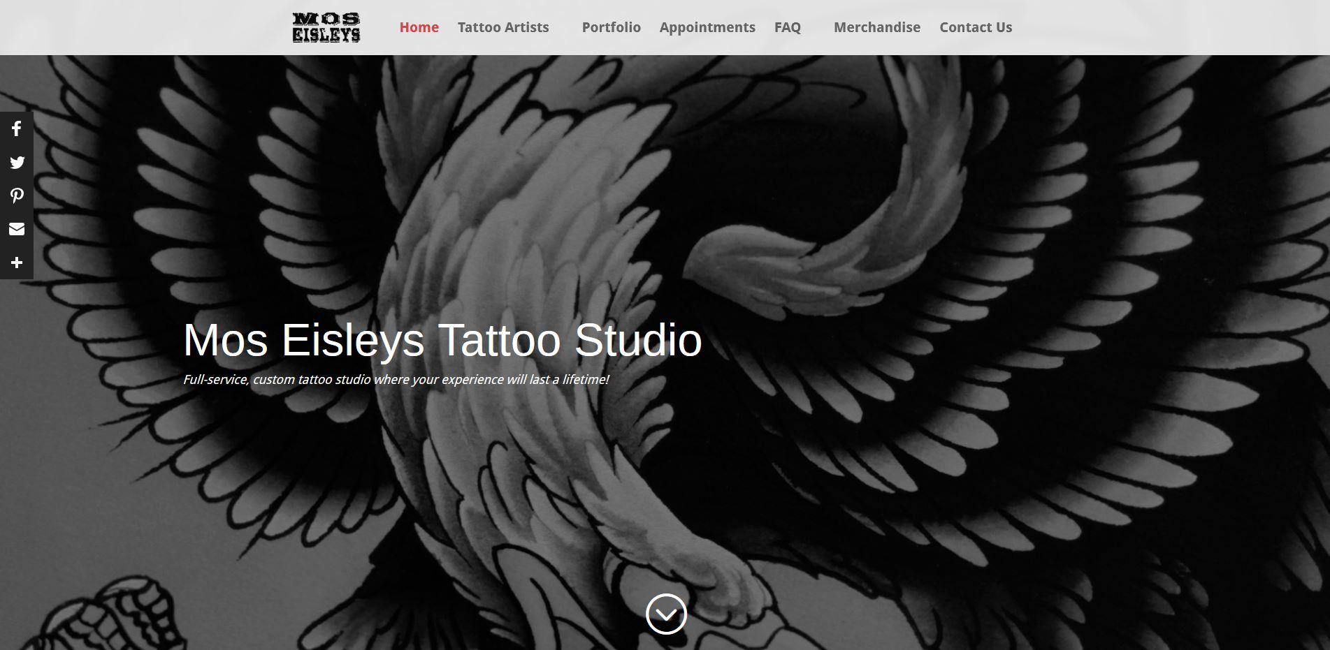 6ddb1d6c6 Mos Eisleys Tattoo Studio – Sites by Adam