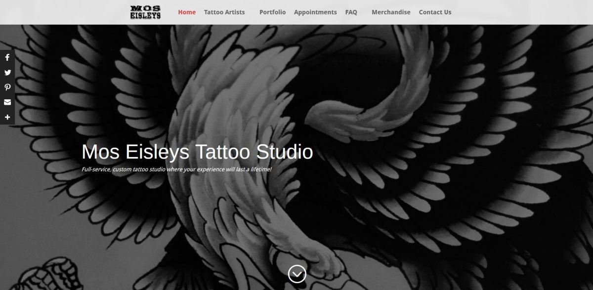 Mos Eisleys Tattoo Studio Sites By Adam